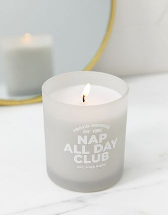 ASOS キャンドル Typo nap all day club candle(3)