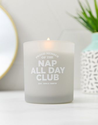 ASOS キャンドル Typo nap all day club candle(4)