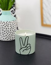 Paddywax Impressions peace lavender and thyme candle