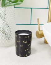 Monki olive and verbena scented candle with boob print in