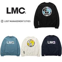 日本未出荷◆LMC◆LMC EARTH LOGO SWEATSHIRT 4色