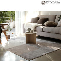 DECO VIEW ★Natural Block Soft Rug-BEIGE - 200 X 150