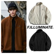 【FILLUMINATE】Unisex Shorten Logo Fleece Jacket