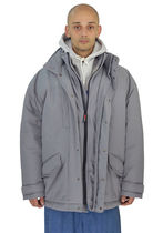 MARTINE ROSE(マーティン・ローズ) ジャケットその他 NAPA BY MARTINE ROSE N0YKD6H4R A-ANDEAN OUTER WEAR H4R GREY