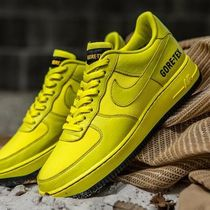 ☆国内正規品☆NIKE AIR FORCE 1 LOW GORE-TEX DYNAMIC YELLOW