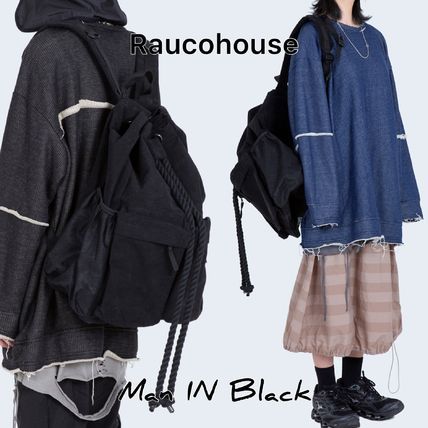 Raucohouse バックパック・リュック [送料込] Raucohouse◆ROPE BUCKET BACKPACK_韓国発