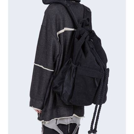 Raucohouse バックパック・リュック [送料込] Raucohouse◆ROPE BUCKET BACKPACK_韓国発(2)