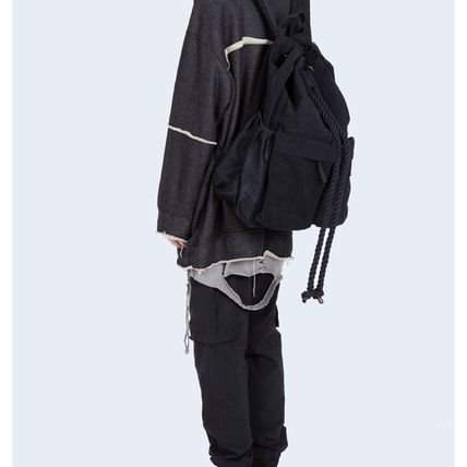 Raucohouse バックパック・リュック [送料込] Raucohouse◆ROPE BUCKET BACKPACK_韓国発(3)