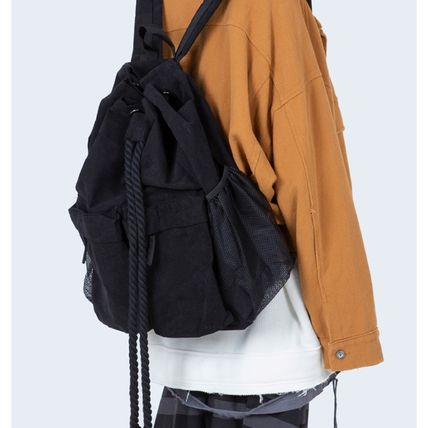 Raucohouse バックパック・リュック [送料込] Raucohouse◆ROPE BUCKET BACKPACK_韓国発(5)