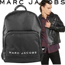 MARC JACOBS(マークジェイコブス) バックパック・リュック SALE! MARC JACOBS ロゴ ナイロン バックバック 男女兼用 A4対応
