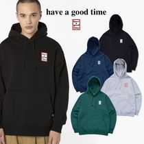 [have a good time] Mini Frame Pullover Hoodie ロゴフーディー