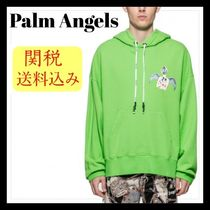 SALE★ Palm Angels パーカー Small Angel 関税送料込み