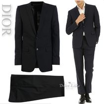 DIOR HOMME Virgin Wool Suit Black