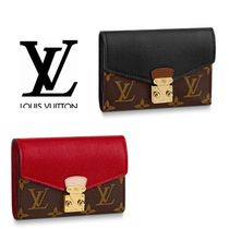 【Louis vuitton】 ポルトフォイユ・パラス コンパクト 財布