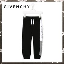 GIVENCHY / SIDE LOGO PRINT JOGGERS ブラック【関税・送料込】