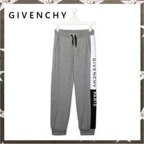 GIVENCHY / SIDE LOGO JOGGERS 14Y グレー【関税・送料込】