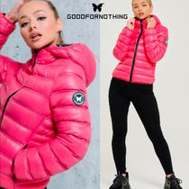 送無☆Good For Nothing☆Her Climate Volt Pink Puffer Jacket