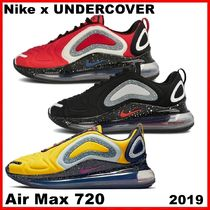 Undercover x NIKE Air Max 720 RED / BLACK AW FW 19 2019