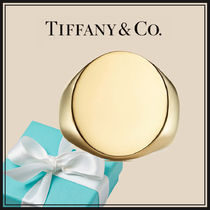 Tifanny - Oval Signet Ring Gold