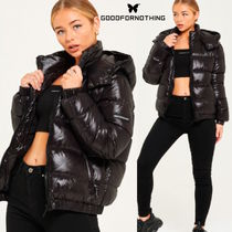 GOOD FOR NOTHING(グッドフォーナッシング) ジャケット 送料無料!☆Good For Nothing☆Her Cyclone Black Puffer Jacket