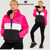 送料無料☆Good For Nothing☆Her Road Nude Pink Puffer Jacket