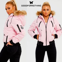 GOOD FOR NOTHING(グッドフォーナッシング) ジャケット 送無☆Good For Nothing☆Her Fortitude Pink Parka Bomber
