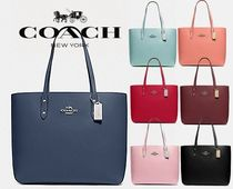 【COACH】TOWN TOTE F72673 シンプルで使い勝手抜群-16色