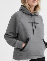 The North Face Graphic hoodie in grey