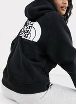 The North Face Graphic hoodie in black