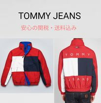 【TOMMY JEANS】完売前に♪レア♪ FLAG LOGO WINDBREAKER