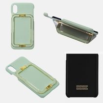 EENK★ LINEY PHONE CASE MINT★iPhone ケース★本革レザー