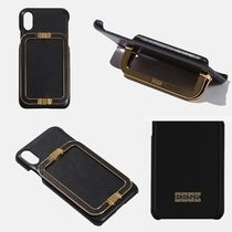 EENK★ LINEY PHONE CASE BLACK★iPhone ケース★本革レザー