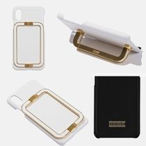 EENK★ LINEY PHONE CASE WHITE★iPhone ケース★本革レザー