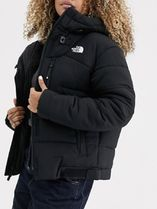 The North Face Himalayan puffer jacket in black