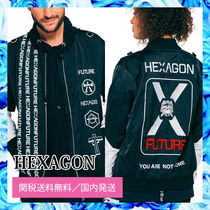 HEXAGON*You are not alone jacket○関税・送料無料○