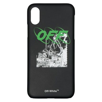 Off-White スマホケース・テックアクセサリー 【OFF-WHITE】RUINED FACTORY IPHONE X COVER 要在庫確認