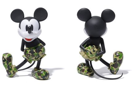 A BATHING APE ホビー・カルチャーその他 送料無料!VCD BAPE MICKEY MOUSE ( GREEN )