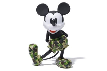 A BATHING APE ホビー・カルチャーその他 送料無料!VCD BAPE MICKEY MOUSE ( GREEN )(2)