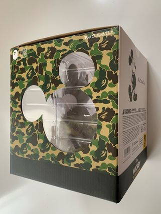 A BATHING APE ホビー・カルチャーその他 送料無料!VCD BAPE MICKEY MOUSE ( GREEN )(5)