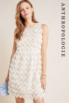 【Anthropologie】Priscilla Textured Mini Dress 上品なワンピc