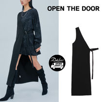 OPENTHEDOOR diagonal strap half long ops OH88 追跡付