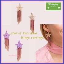 【kate spade】キラキラ★ star of the show fringe earrings ★