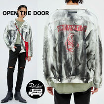 OPENTHEDOOR damage squall denim jacket OH95 追跡付