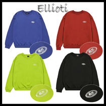 ◆ELLIOTI◆ CLEAR RUBBBER LABEL SWEAT SHIRTS  SF9ロウン着用