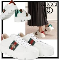 ★安全発送/関税込★GUCCI★Ace embroidered platform sneaker★
