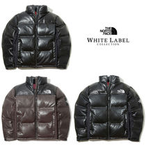 EMS便★THE NORTH FACE★ダウン LEATHER NUPTSE DOWN JACKET 3色