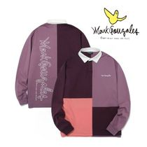 ◆Mark Gonzales◆ SEPARATION RUGBY SHIRTS/パープル