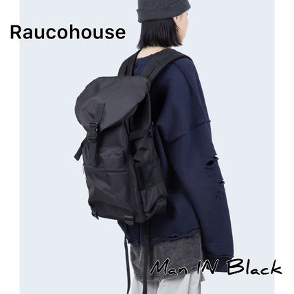 Raucohouse バックパック・リュック [送料込] Raucohouse◆ONE BUCKLE BACKPACK_韓国発