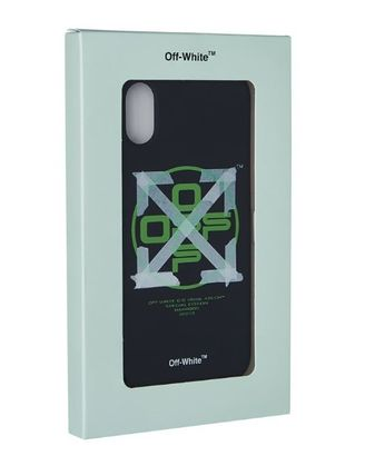 Off-White スマホケース・テックアクセサリー Off-White ☆ iPhone X Case ☆ Arrow Tape(2)