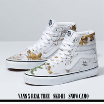 コラボ/未入荷/UNISEX/VANS X REAL TREE/SK8-HI/SNOW CAMO